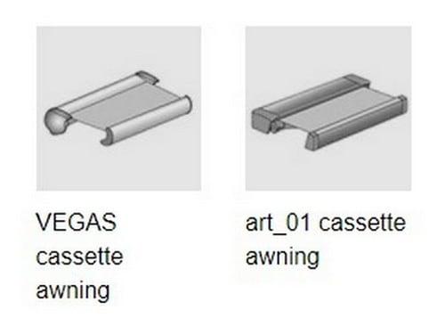 Full Cassette Folding Arm Awnings