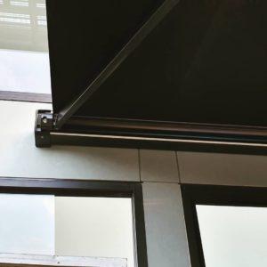 folding arm awnings Indesign blinds Australia