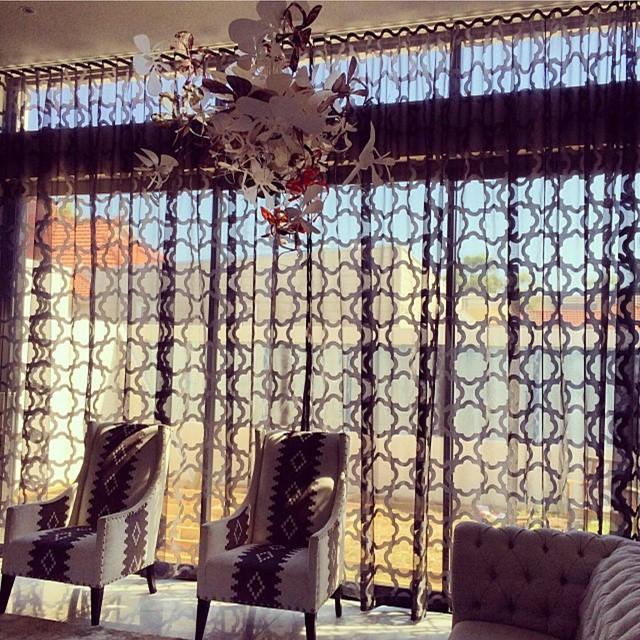 Custom curtains and drapery
