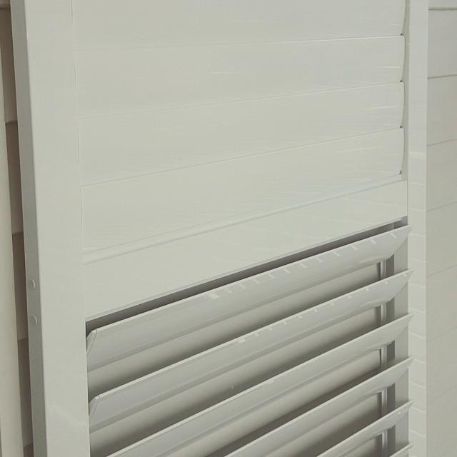 Installation aluminium shutters