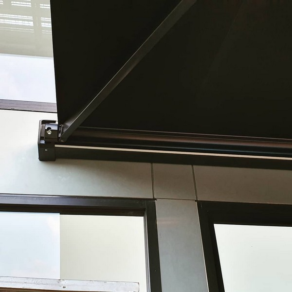 Hand made awning by InDesign Blinds