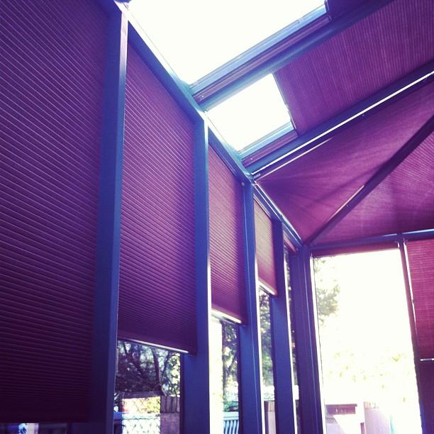 Skylights, Honeycombs, triangle windows