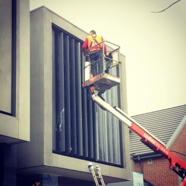 Custom job in Brighton for client